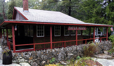 There is a house in Massachusetts, USA which is made completely from  newspaper | Factual Facts