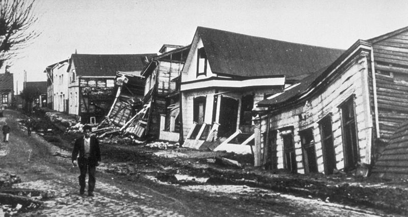 Aftermath of the Valdivia Earthquake