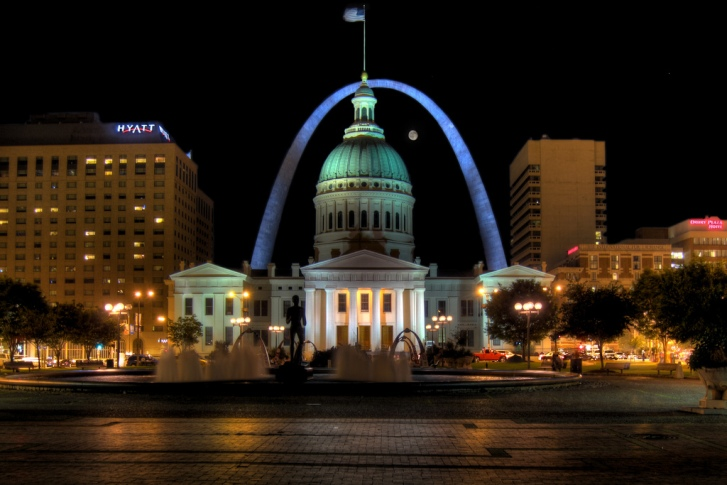 Gateway Arch in (image source)